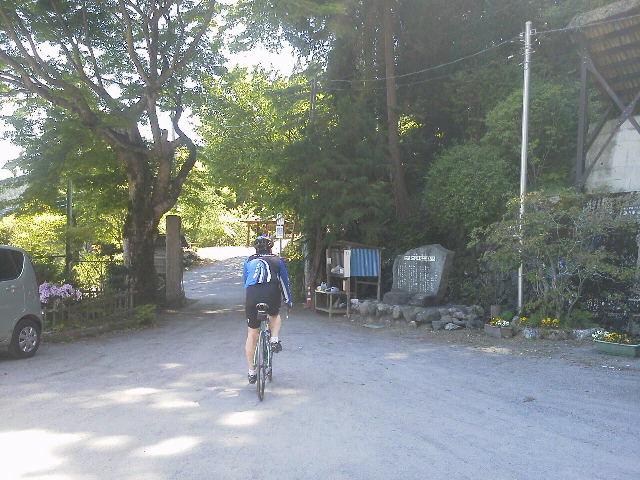 おさるとサイクリング