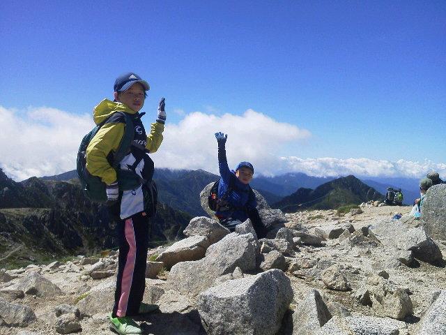 木曽駒ヶ岳2965m<br />  へ