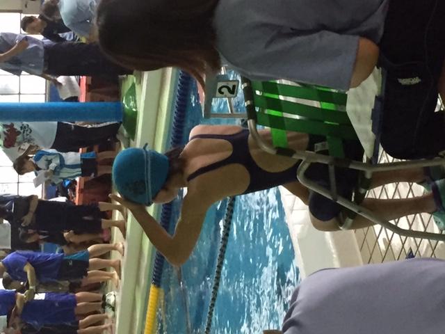 競泳大会公式戦